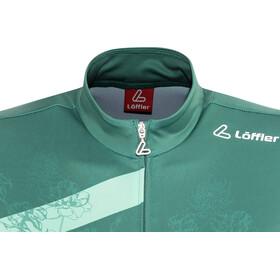 Löffler Flow Bike Jersey Shortsleeve Women green/teal